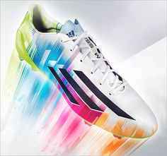 save off a14e1 96209 Lionel Messi et ses chaussures fluo, les Adidas adizero F50 Best Soccer  Shoes, Football