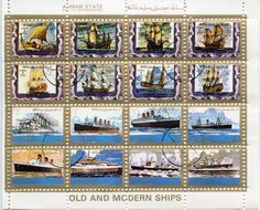 .. Postage Stamps, Ships, Baseball Cards, Stamps, Arch, Boats, Ship