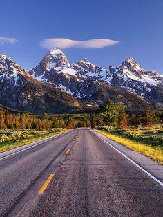 Wyoming Landscape Photography Print  Grand Tetons  by DBrimPhoto, $10.00