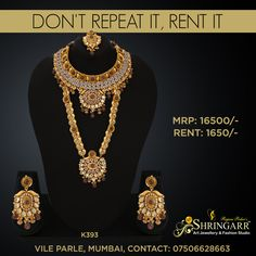 9e818ebc7f 19 Best Jewellery Sets On Rent images | Jewelry sets, Bridal ...