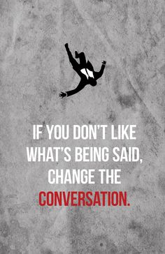 Change the Conversation - Don Draper Mad Men Quote Print on Etsy, $7.00