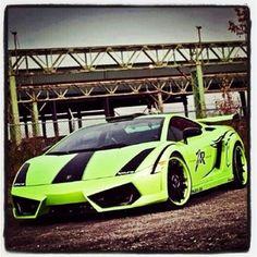 Hulk Lamborghini Gallardo Green