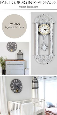 Agreeable Gray (SW 7029) by Sherwin Williams: see paint colors in real spaces in this home tour full of lovely, nature-inspired neutrals | maisondepax.com