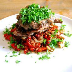 lamskotletten met quinoa