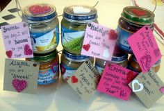 awww, this is so cute if you have a baby, and want to pass out valentine treats to their friends too!!