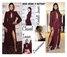 Who Wore It Better? Kendall Jenner Vs Chanel Iman In Zimmerman