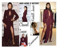 Who Wore It Better? Kendall Jenner Vs Chanel Iman In Zimmerman