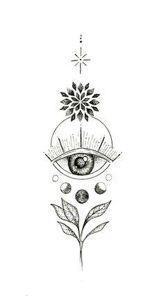 Small Girl Tattoos, Tattoo Girls, Tattoos For Women, Sternum Tattoo Girl, Boho Tattoos, Body Art Tattoos, Hand Tattoos, Third Eye Tattoos, 3rd Eye Tattoo