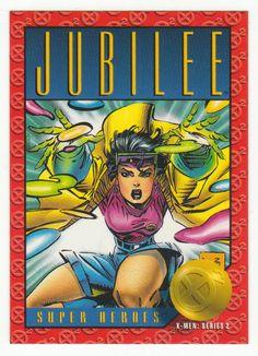 X-Men Series 2 - Jubilee # 16 Skybox 1993