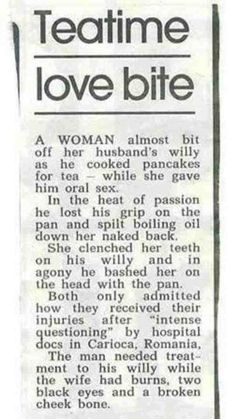 Funny story clipping - Teatime love bite - http://jokideo.com/funny-story-clipping-teatime-love-bite/