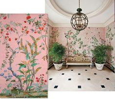 Colour Inspiration: Pink & Green