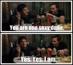 ;) Sean and Norman messing around