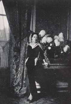 """The Duchess made the Paris Couture best-dressed list in 1935 and remained there for 40 years, famous for her elegant but simply-tailored clothes and chic jewels.  She was Cartier's most important client during this period after her marriage and several of her masterpieces are at the Legion.  """"She was willing to be quite cutting edge,"""" explained Pierre Rainero, """" to wear things that other women would not wear and she wore then very well."""""""