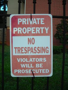 Beware Arrest
