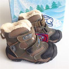 России внешней торговли оригинальный сингл KAPIKA ребенок снега сапоги детей снега сапоги хлопок сапоги мальчик малыша ботинки шерсти внутри