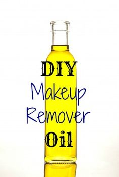 Natural and Effective DIY Makeup Removing Oil Recipe - Nourishes Delicate Skin While Removing All Traces of Makeup - Even Waterproof Mascara!