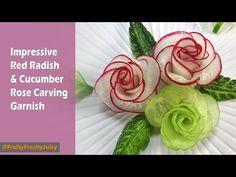 Comment Faire une Fleur en Tomate Cerise (HD) - YouTube