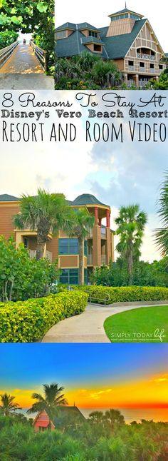 8 Reasons To Stay At Disney's Florida Vero Beach Resort + Room Tour - simplytodaylife.com