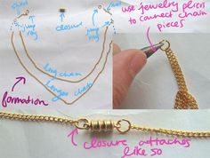 Step Three DIY Seashell Necklace