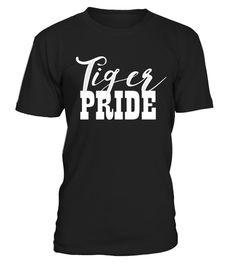 53529212 Tiger Pride Spirit Wear T-Shirt Top Tshirt Tee T Shirt . Special Offer