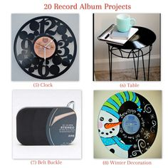 20 Record Album Projects from Too Much time On My Hands