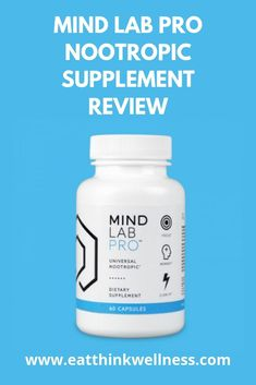 This Mind Lab Pro Review explores the quality of ingredients, the brain benefits & research behind the nootropics used in this brain supplement. Mental Health Benefits, Health And Wellness, Brain Supplements, Wellness Programs, Workout Challenge, Lab, Mindfulness, Natural, Health Fitness