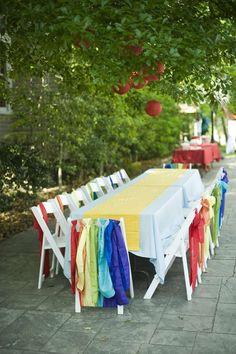 Wizard of Oz - Rainbow Birthday Party Ideas | Photo 7 of 52 | Catch My Party