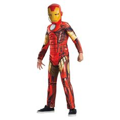 Boy's Avengers Assemble Deluxe Iron Man Kids Costume