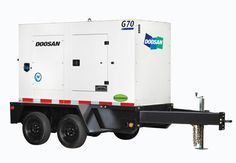 Doosan Adds G40 Mobile Generator to Product Lineup #construction #compact