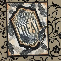 Stampin up 2015 Witches'Night