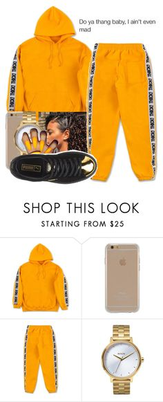 """""""Thick Marathon """" by littydee ❤ liked on Polyvore featuring Agent 18, Nixon and Puma"""