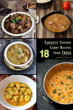 18 fantastic Chicken Curry Recipes from India - Handpicked Blog Recipes for hardcore curry lovers!