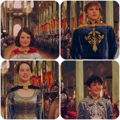 """""""Once a king or queen of Narnia, always a king or queen of Narnia. May your wisdom grace us until the stars rain down from the heavens."""""""