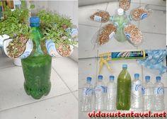Como fazer Hidroponia Reciclando Garrafas de Plástico Pet