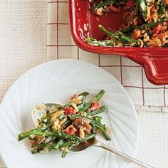 Hearty Thanksgiving Casseroles: Home-style Green Bean Casserole