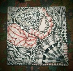 Diva Challenge #294: Reticula and Fragments   I'm quite fascinated by this concept introduced in the Zentangle Primer v.1. I don't own...