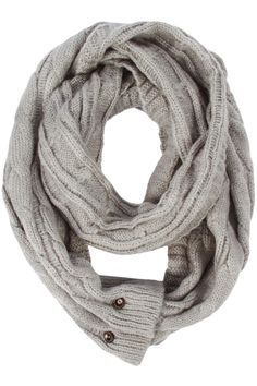 Aiden Convertible Loop Scarf - so cute!  It converts between a regular scarf and an infinity scarf.  Looks so cozy!