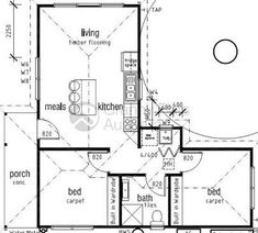 Image result for floor plans l-shaped 2 bedroom granny flats