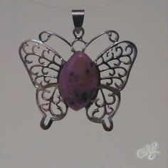 Shipment #9 3/5/16 Sorry Sold Spring Fling Open House 3/12/16 Pink Stone Butterfly Pendant $25.00 Barbara S Thomaston Me