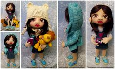 doll Crochet Hats, Dolls, Handmade, Crocheted Hats, Baby Dolls, Hand Made, Doll, Craft, Girl Dolls