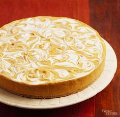 No-Bake Pumpkin Swirl Cheesecake – Way Cooks