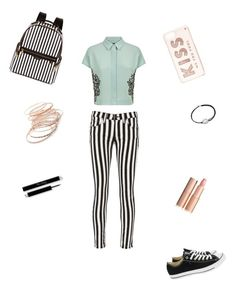 """""""helemaal mooi"""" by lois02 ❤ liked on Polyvore featuring Jaeger, rag & bone/JEAN, Converse, Henri Bendel, Kate Spade, Alex and Ani and Red Camel"""