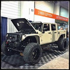 Four door jeep truck..!!!