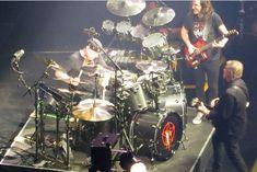 Neil Peart's R40 Retro drums