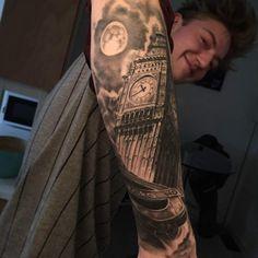 Christian Boye Larsen  | Artists | The International London Tattoo Convention 2016
