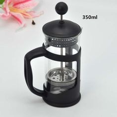 350ML The portable Tea Strainers / glass filter coffee pot filter cup coffee filters tea cup tool kitchen tools