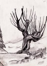 Image result for whomping willow silhouette