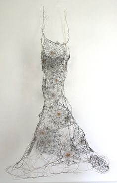 Glass water Gown - Susan Freda