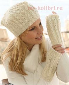 Изысканная шапка спицами интересной формы, узором из мелких кос http://my-kolibri.ru/vyazanie-dlya-zhenshhin/shapki-berety-sharfyi/izy-skannaya-shapka-spitsami-interesnoj-formy-uzorom-iz-melkih-kos/