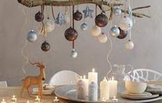 Wow das gefällt mir für unseren Esstisch zu Weihnachten. Zaubert eine gemütliche Weihnachts Atmosphäre